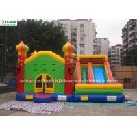 Quality Commercial Inflatable Jumping Castles Slide For Family Park Use for sale