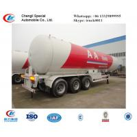 Quality CLW factory suppiy biggest 25.2t 60CBM 60000l 3 axles 12 wheels LPG gas trailer  for sale, ASME standard lpg gas trailer for sale