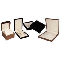 Buy Modern Design Individual Leather Cardboard Jewelry Display Boxes With Lids at wholesale prices