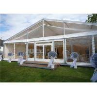 Quality Arabic Style Fire Proof Clear Event Tent Clear Party Tent 15m * 35m With Tables / Chairs for sale