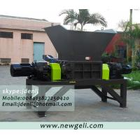 Quality double-shaft shredder,plastic shredding machine,pet bottle shredding machine for sale
