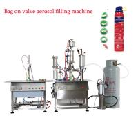 Quality Bag On Valve Aerosol Filling Machine for sale