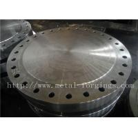 Quality P355QH EN10273 Carbon Steel Forged Disc  Pressure Vessel Blank Flange for sale