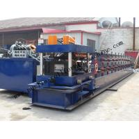 China Hydraulic PLC Control Purlin Roll Forming Machine , Z Purlin Making Machine on sale