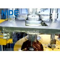 Buy Efficent Automatic Coil Winding Machine / Wire Coil Inserting Machine Four Working Station at wholesale prices