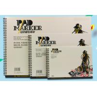 Buy Artist painting pad , the marker pad , A3 / A4 / A5 , low permeation marker pad at wholesale prices