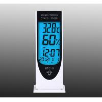 HTC-8 LCD display temperature and humidity meter clock for sale