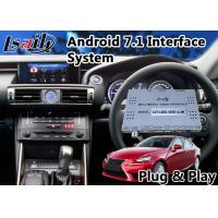 Buy cheap Android 6.0 Interface GPS Navigation for 2013-2016 Lexus Is 300h with Google from wholesalers