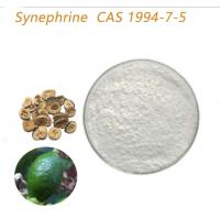 Quality Health Food Citrus Extract Synephrine Powder Increasing Caloric Expenditure for sale