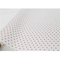 China Polka Dot Holiday Tissue Paper , Gift Wrapping Dotted Tissue Paper on sale