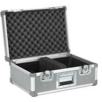 Quality Aluminum Travel Case Silvery 10mm Plywood / Moving Head Light Case for sale