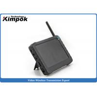 Buy Mini size 2.4Ghz FPV Monitor 5'' Wireless Ground Station Support 32GB Card at wholesale prices
