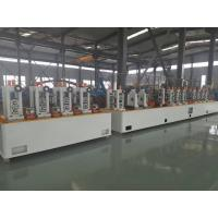 Quality Friction Saw ERW Precision Tube Mill Making Machine With Cold Saw HG60 for sale