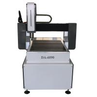 Buy cheap 2*3Ft 6090 Desktop CNC Router Stepper Motor CNC Engraving Machine For Wood Metal from wholesalers