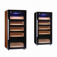 Quality Electronic Cigar Cabinet Humidor with Humidifier and Temperature Adjustable System for sale