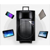 Quality Portable Battery Powered Wireless Pa System Speakers , Bluetooth Trolley Speaker for sale