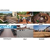 Outdoor wpc cheap wpc decking tiles composite boards wood for Cheap decking boards for sale