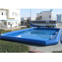 Quality Adults Floating Inflatable Water Pool / Boat Swimming Pool For Amusement Park for sale