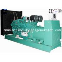 China 1500KVA Cummins Diesel Generator Turbo Charging With Inter - Cooling By Electric Start on sale