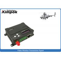 Buy 1W RF UAV Video Link Transceiver TDD - COFDM Wireless Image Sender and Receiver at wholesale prices