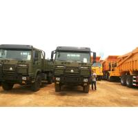 China 4×4 Heavy Cargo Trucks / Military Cargo Truck All Wheel Drive Model ZZ2167M5227 on sale