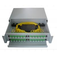 Quality SF-FPP007: Sliding Type 2U 48Core Fiber Optic Patch Panel for sale