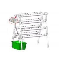 Quality Home Grow Indoor Plant Hydroponic Grow System With 72 Holes Countryside Style for sale