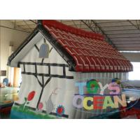 China Commerial Inflatable Bounce House Inflatable Jumping Castle For Rent on sale