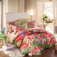 Quality Custom Color Home Bedding Comforter Sets With Matching Cushions And Curtains for sale