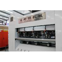 Quality A type computer controlled corrugated cardboard slitter scorer with AC servo, paper sheet cutting creasing machinery for sale