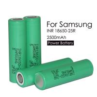 Quality Quick deivery authentic 3.7v lithium 2500mah battery inr18650-25r lithium ion battery pack shipped by UPS for sale