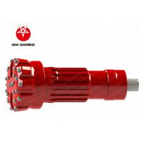 Quality Mountain Reinforcement Threaded Button Bits / Down The Hole Hammer Bits for sale