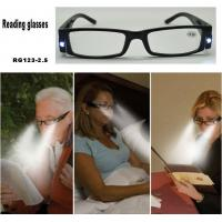 Quality Reading glasses with LED light for sale