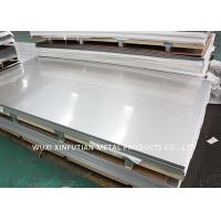 Quality Hairline 316 Stainless Sheet / Stainless Steel Grade 316l Customized Surface Finish for sale