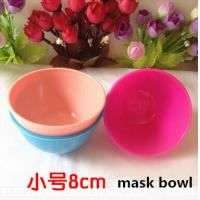 Quality plastic cosmetic mask bowl and cosmetic scoop  cosmetic spa bowl for sale