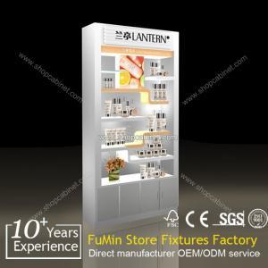 Quality acrylic kiosk cosmetic showcase for sale