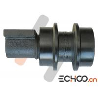 Quality 4349516 Black Excavator Top Roller With Double Flanges HRC52-58 Hardness for sale
