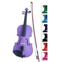 Quality Blue / Brown Classic Student Handmade Violin 1 / 8 Size With Ebonized Fingerboard for sale