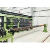 Quality Horizontal Type Gabion Box Machine Three Twist Smooth Running For Chicken Cages for sale