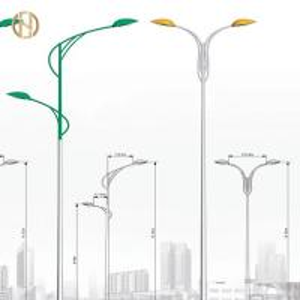 Quality Custom 12M Galvanized Light Pole Anti Corrosion for sale