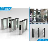 Quality Durable Stable Optical Flap Gate Barrier Turnstile Access Control System SUS 304 Housing for sale