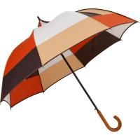 Buy Wooden Handle Folding Golf Umbrella Woman , Lightweight Golf Umbrella Alternativ at wholesale prices