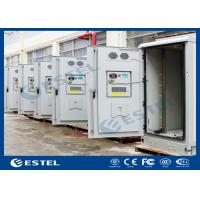 Air Conditioner Cooling Outdoor BTS Outdoor Cabinet With Environment Monitoring System