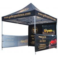 Quality Waterproof Advertising Canopy Tents, Hexagonal Steel Frame Outdoor Canopy Tent for sale