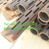 Quality Description of slotted casing pipe for sale