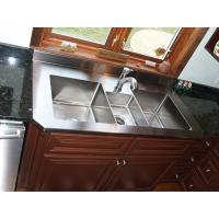 China Custom Stainless Steel Parts Metal Kitchen Sink , Stainless Steel Fabrication For Household Tool on sale