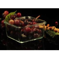 Buy Recyclable Borosilicate Airtight Microwave Safe Glass Bowl Heat Resisting at wholesale prices