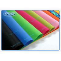 Quality Full Color Range Fire Retardant Polypropylene Non Woven Fabric For Furniture for sale
