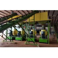 Quality Beech Wood Sawdust Complete Line Wood Pellet Making Machine With 3T/H Capacity for sale