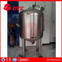 Quality Sanitary Stainless Steel Mixing Tanks Heat Preservation Magnetic Agitator Dense for sale